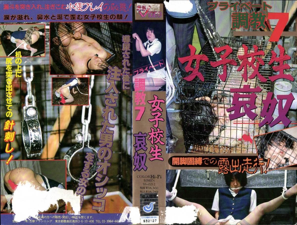 SS 0212 - [SS-0212] プライベート調教 7 女子校生哀奴    【VHS】 志摩プランニング  Training  Other School Girls 志摩ビデオ Shima Shimitsu