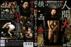 DXN 004 300x202 - [DXN-004] 人間犬 横西奈々 コスチューム ビクセン 横西奈々 監禁・拘束 まるかつ